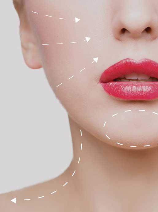 Trattamento efficace per gli inestetismi del viso